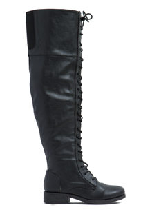 Full Combat Lace-Up Boots