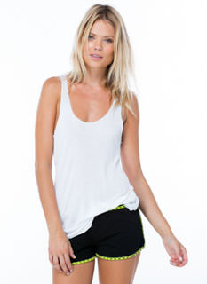 Finishing Touch Racerback Tank Top