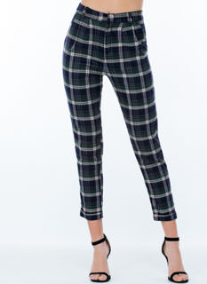 Classic By Itself Plaid Trousers