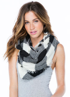 Check It Off Infinity Scarf