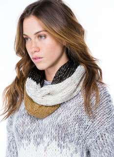 Sequin Dusted Infinity Scarf