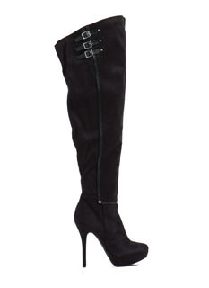 Triple Threat Thigh-High Boots