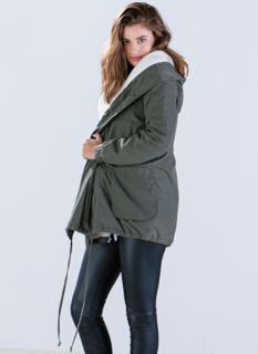 Military Maven Hooded Jacket