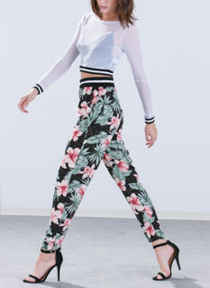 Tropical Dreams Floral Pants