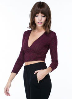 Knitty Comeback Crop Top