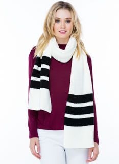 Collegiate Striped Scarf