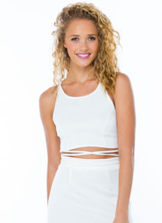 Lace It Up Halter Top