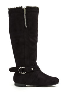 Double Ring Buckle Boots