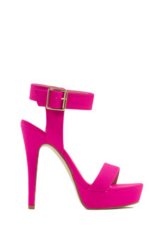 Propose A Toast Single-Strap Heels