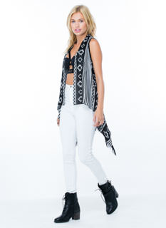 Layer Up Tribal Fringe Vest