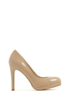 Night Walker Faux Nubuck Heels