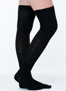 Knit Ur Average Thigh-High Socks