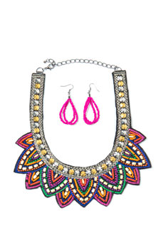 U Can't Stop The Bead Necklace Set