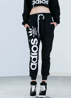 Adios Amigos Graphic Leaf Sweatpants