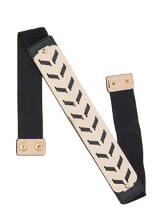 Chevron Threaded Plate Belt