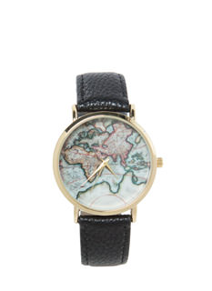 Jetsetter Faux Leather Watch