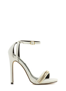 Oh My Omega Chain Strap Heels