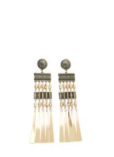 Tribe Vibe Tiered Spoke Earrings