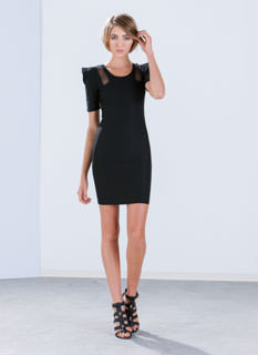 Power Up Bodycon Dress
