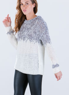 Mix 'N Marl Knit Sweater