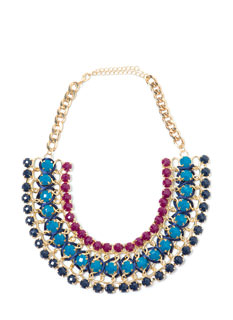 The Jewels Tri-Strand Necklace