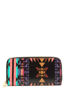 Tribal Magic Faux Leather Wallet