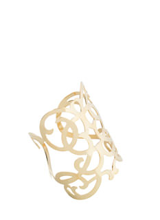 Take A Look Mirrored Cut-Out Cuff