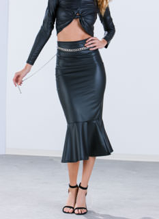 Slick 'N Chic Trumpet Skirt