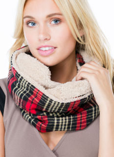 Rad In Plaid Infinity Scarf