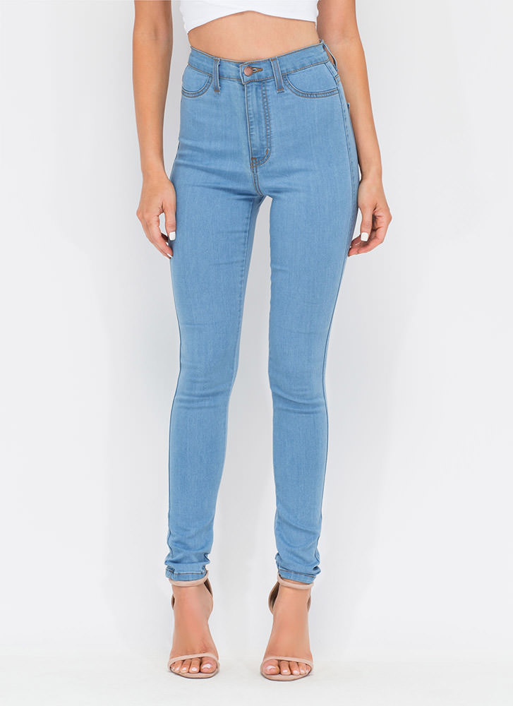 Shop the latest Women's High-Waisted Jeans at Forever 21 to carry you through every season. Get inspired by skinny, wide-leg, cropped, distressed, flared, & boyfriend styles.