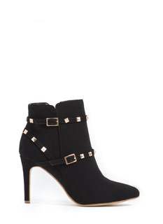 Find Ur Edgy Studded Booties