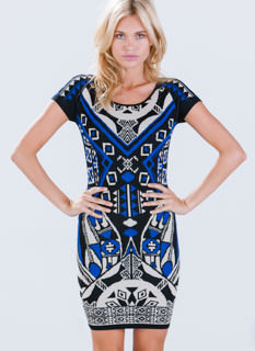 Time To Reflect Bodycon Dress