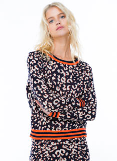 Leopard Instinct Knit Sweater