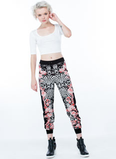 Go With The Flow-er Knit Joggers