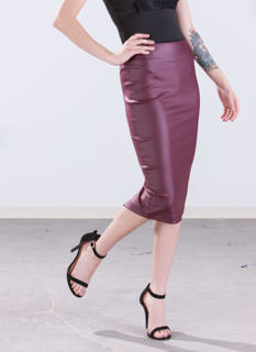 Hey Slick Pencil Skirt