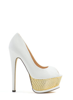 Scale The Heights Peep-Toe Platforms