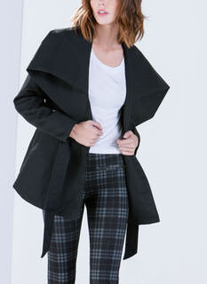 Big Deal Oversized Collar Coat