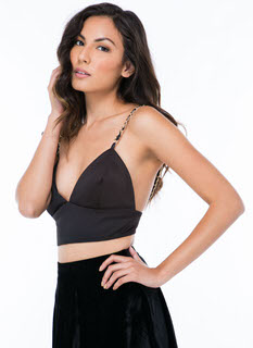 All About Chain-ge Bra Top