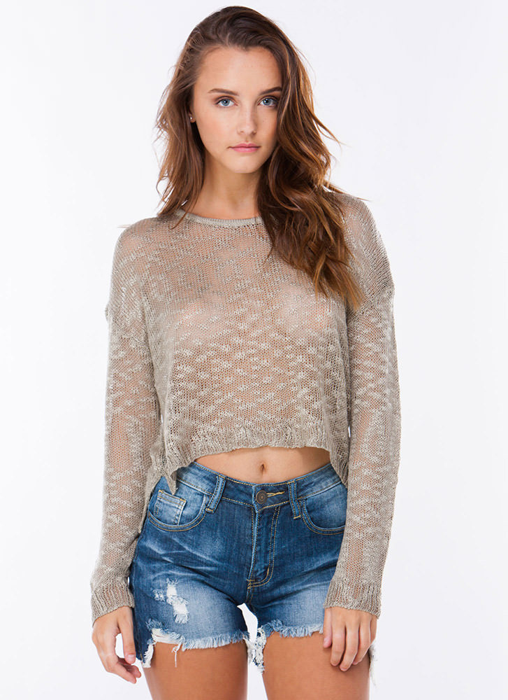 Knit 2Gether Dolman Sweater