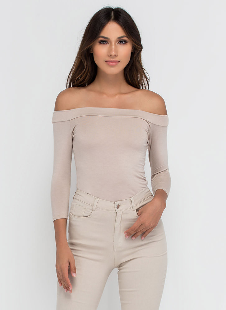 Simply Irresistible Off-The-Shoulder Top