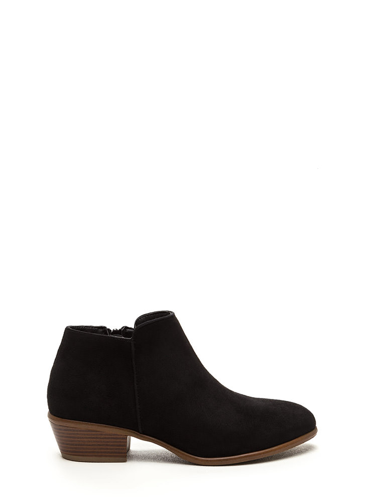 Jetset Diaries Faux Suede Booties