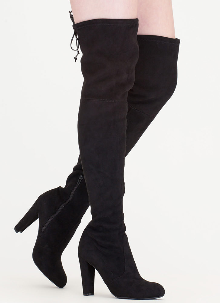 All Legs Over-The-Knee Chunky Boots