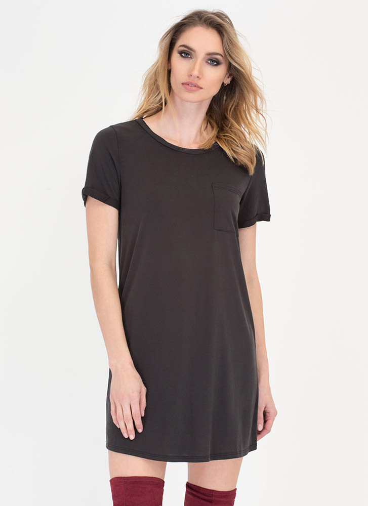 Empty Your Pocket T-Shirt Dress