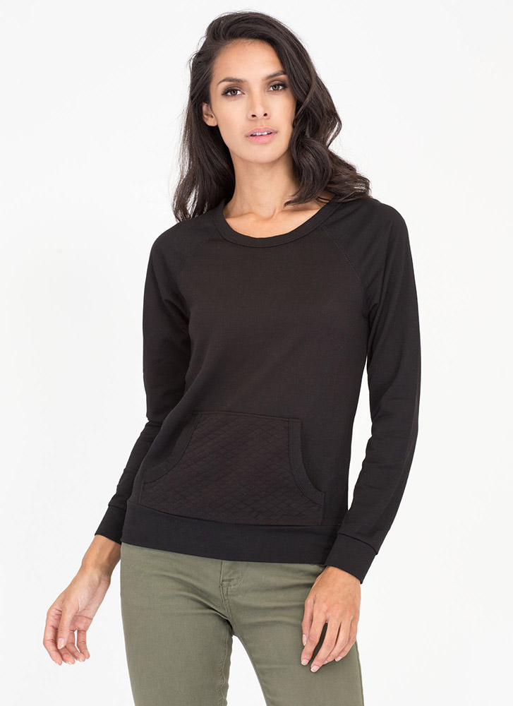 Quilty By Association Sweatshirt