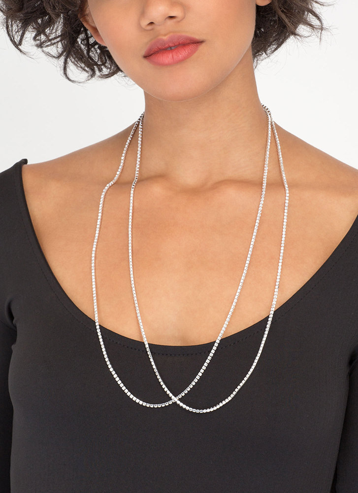 Longing For It Jeweled Necklace