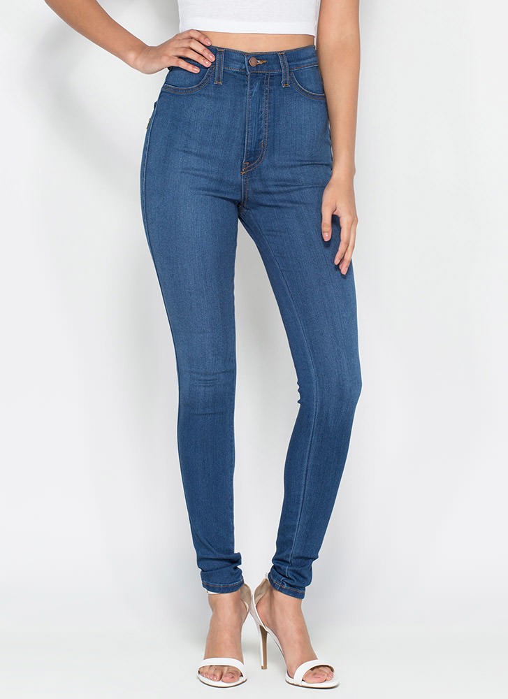 High-waist jeans: help me love them : femalefashionadvice