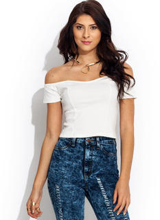 Sweetheart Cropped Top