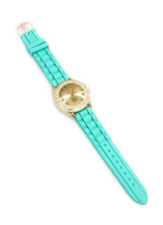 Diamonds Are Forever Silicone Watch