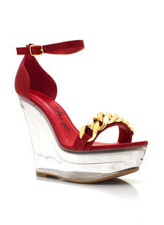 In The Clear Chain Link Wedges