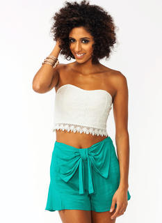Sweetheart Lace Tube Top
